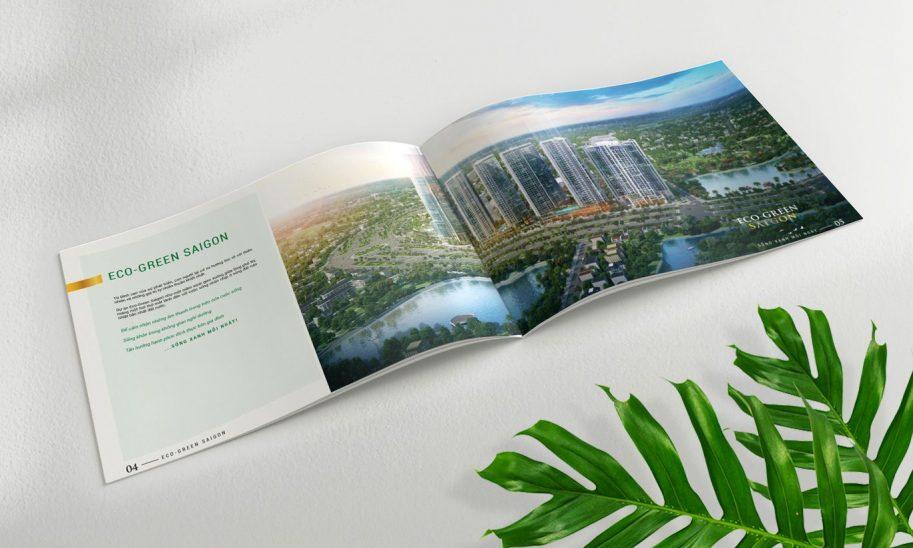 thiết kế Catalogue Eco Green Sài Gòn 1