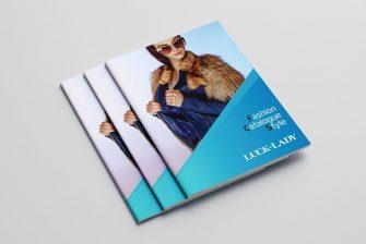thiết kế Catalogue ngành thời trang