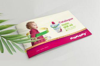 thiết kế Catalogue ngành tiêu dùng
