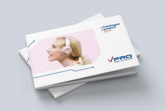 thiết kế Catalogue thiết bị điện tử