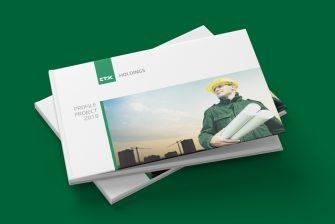 thiết kế hồ sơ năng lực công ty xây dựng CTX Holdings
