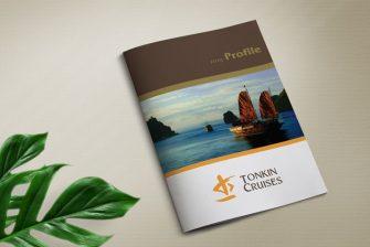 thiết kế hồ sơ năng lực du lịch Tonkin Cruises