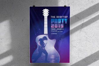 thiết kế Poster ca nhạc