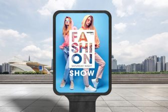 thiết kế Poster Thời trang